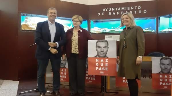 28A.- Isaura Leal Subraya El Compromiso Del PSOE Con 'La España Que Vive Y Trabaja En El Medio Rural'