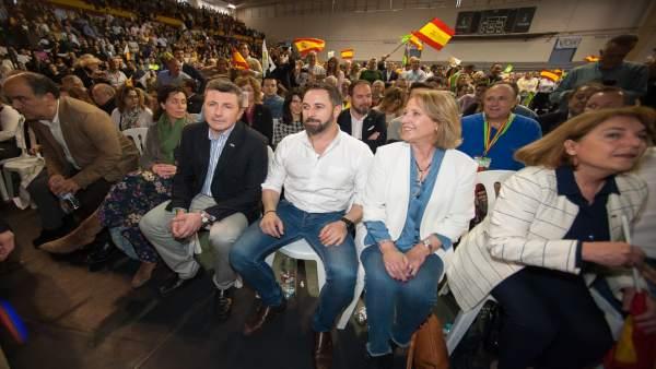 Acto de Vox en Murcia