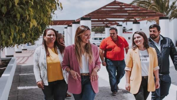 28A.- Fernández (CC) Se Compromete Con Lanzarote Y Asegura Que Lo Defenderá En El Congreso