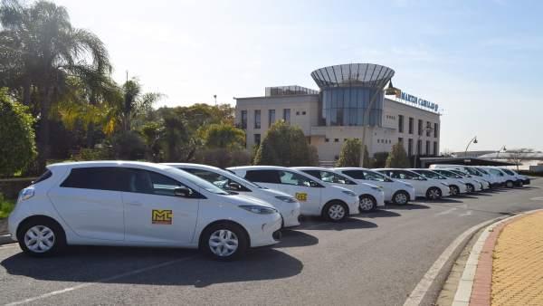 Sevilla.- Grupo Martín Casillas apuesta por la movilidad sostenible con la incorporación de 13 vehículos 100% eléctricos