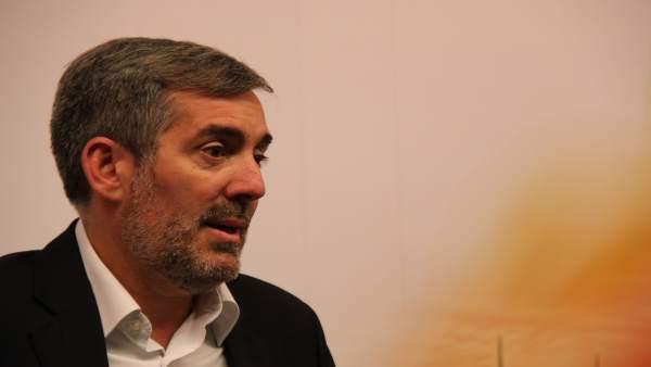 28A.- Clavijo (CC) califica de 'decepcionante' el debate a cuatro de RTVE y ve con preocupación la falta de acuerdo