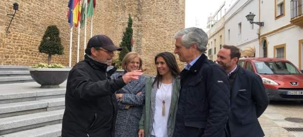 Cádiz.-28A.- Suárez defiende el 'compromiso del PP con España' y lamenta que 'esté en peligro la concordia social'