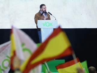 Acto de campaña de Vox en Madrid.