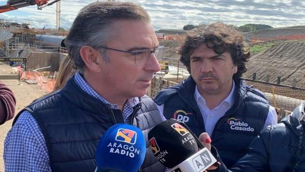 28A.- Beamonte Señala Al PP Como El Único Partido Nacional Que Defiende El Pacto Del Agua