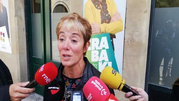 28A.- Bel Pozueta (EH Bildu) Llama A 'Ganarle El Escaño A La Derecha' Para 'Decir No Al Autoritarismo'