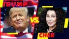Trump y Cher no pueden parar de insultarse