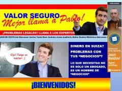 La web 'valorseguro.org', creada por Compromís, recoge los casos de corrupción del PP.