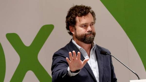 El vicesecretario de Relaciones Internacionales de vox, Iván Espinosa de los Monteros.