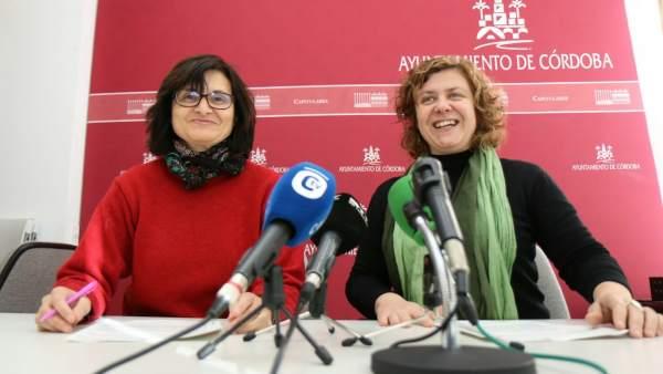 Amparo Pernichi y Alba Doblas