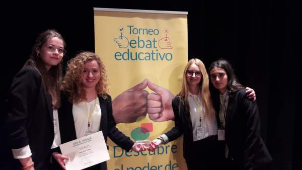 Almería.-El IES Alto Almanzora de Tíjola, ganador del primer Torneo de Debate Educativo en Andalucía