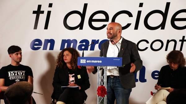 AV.- 28A.- Villares (En Marea) afea a Pablo Iglesias que viniese a Galicia a hacerse 'fotos' y 'ninguna propuesta'