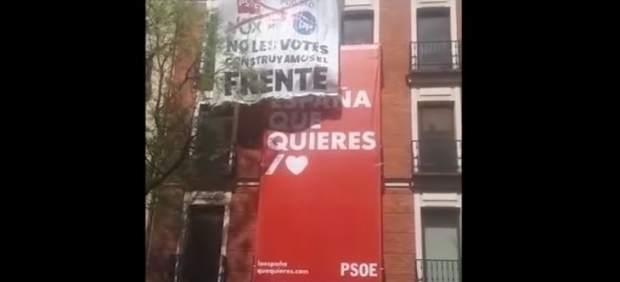Pancarta Frente Obrero