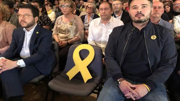 28A.- Aragonès Pide Al Independentismo Concentrar El Voto En ERC Para Ganar Las Generales