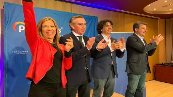 28A.- Beamonte Llama A Concentrar El Voto En El PP 'Para Cambiar Al Gobierno Socialista Del Paro Y El Independentismo'