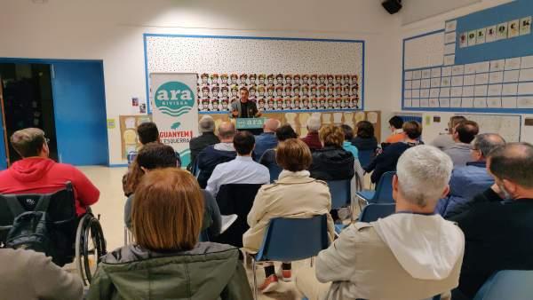 La coalición Ara dice que trabajará para acabar con una situación 'injusta' como es que Formentera no tenga senador