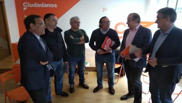 Reunión de Ciudadanos con representantes de la educación concertada.