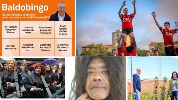 28A.- Punto Y Final A Una Campaña Electoral 'Aderezada' Con Monas De Pascua, Tambores, Fallas Y Bailes