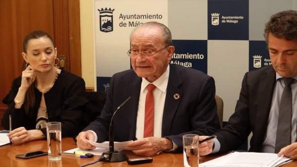 Málaga.- Equipo de gobierno propone modificación de crédito de unos 12 millones con consignación para política social