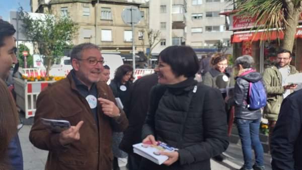 28A.- Ana Pontón Pide El Voto A Los Indecisos Porque El BNG Está 'Disputando' Escaños A Vox En Pontevedra Y A Coruña