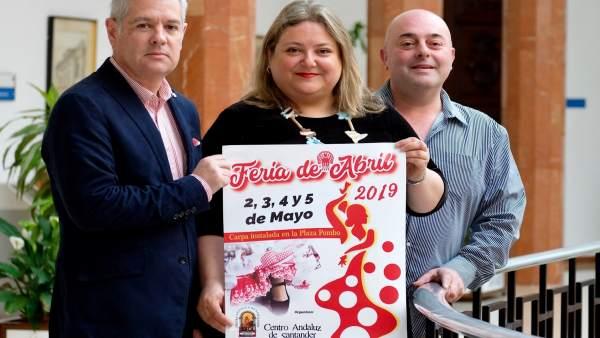 Santander.- La ciudad celebrará del 2 al 5 de mayo en la Plaza de Pombo la Feria de Abril 2019