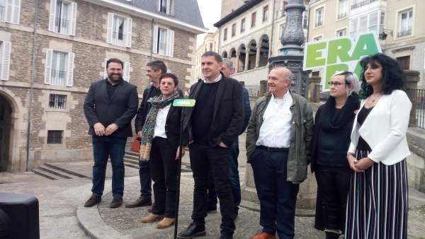 28A.-Otegi (EH) Pide El Voto De Los Soberanistas De Izquierdas Para Combatir La 'Ola Autoritaria' De La Derecha