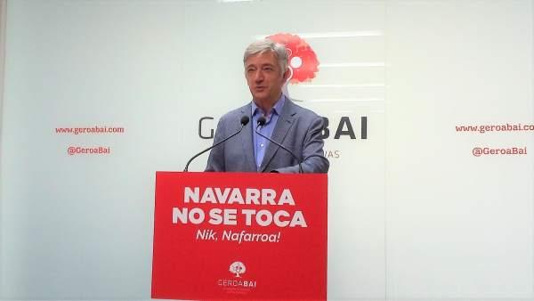 28A.- Geroa Bai quiere para Navarra las competencias de becas y de pruebas diagnósticas en educación
