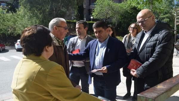 Jaén.- 28A.- Reyes (PSOE) apela al voto útil y pide concentrar el voto progresista en el PSOE