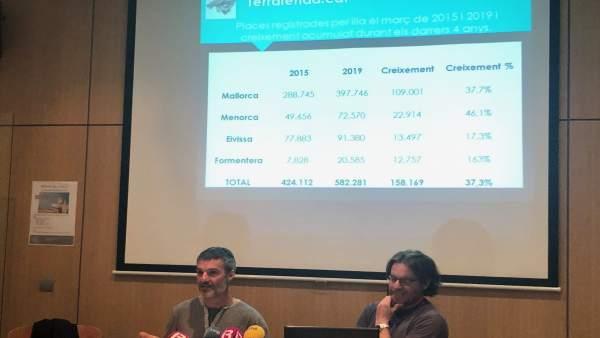 Baleares registra 158.000 plazas turísticas más que hace cuatro años