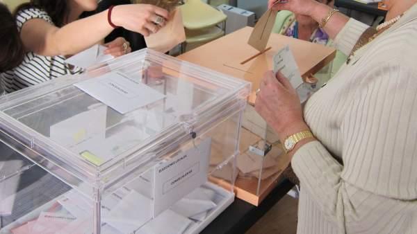26M.- Los partidos recibirán 270,9 euros por cada concejal electo, la misma subvención que en las elecciones de 2015