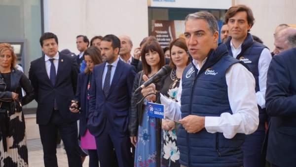 Málaga.- 28A.-Bendodo: 'El modelo de PP es el de bajada de impuestos para mejorar servicios públicos y crear más empleo'