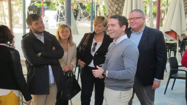 26A.- Teodoro García Egea Valora Que López Miras Y El Pp De La Región Actúan De Forma 'Ágil Y Contundente' En Librilla