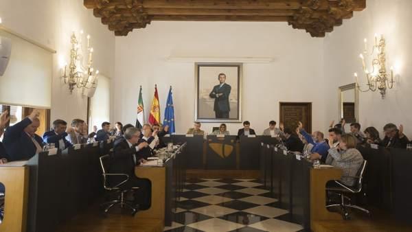 [Grupoextremadura] Nota Último Pleno Ordinario Antes De Las Elecciones Autonómic