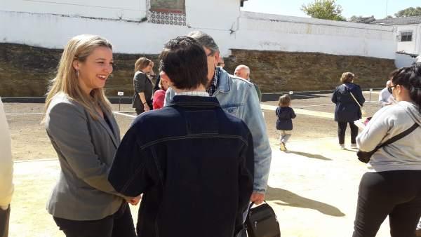 [Sevilla] Np Alcalá: Beneficiarios Huertos Urbanos Ecológicos Conocen Sus Parcel