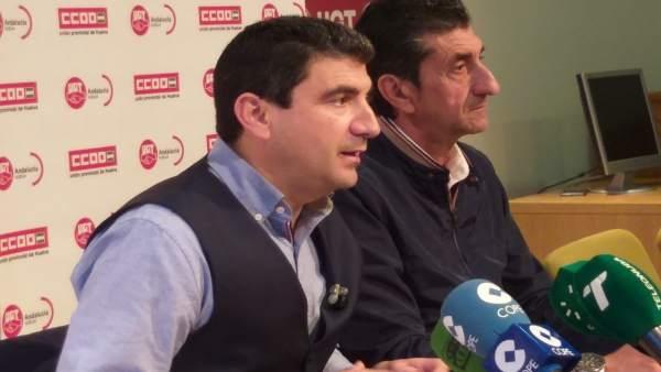 Huelva.-CCOO y UGT se movilizarán el 1 de mayo desde la Plaza 12 de Octubre y piden 'atención' y 'compromiso' con Huelva