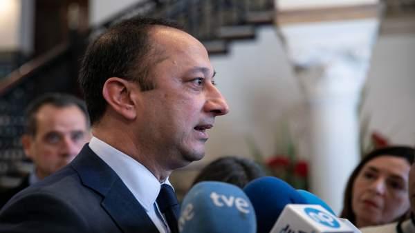 28A.- Celis se despide como delegado del Gobierno: 'Un tiempo intenso, repleto de emociones y de dramáticas tristezas'