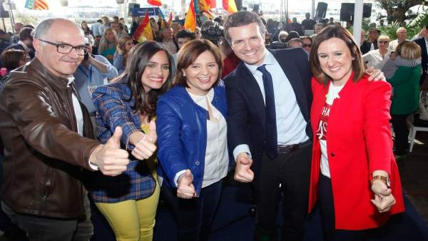 28A.- Casado 'Barre Para Casa' Y Confía En Que Bonig Y Català Ganarán Para Atender Las 'Justas Demandas' De La Comunitat