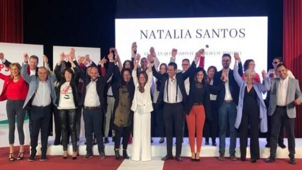 Huelva.-26M.- PSOE presenta su candidatura en Ayamonte como 'proyecto ilusionante' que situará al municipio donde merece