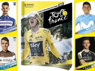 Colección de cromos Panini del Tour de Francia