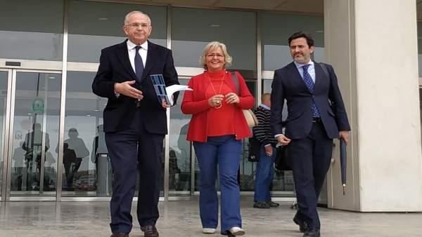 Málaga.- Tribunales.- Defensa de los ediles Porras y Pomares pedirá el archivo del caso Villas del Arenal