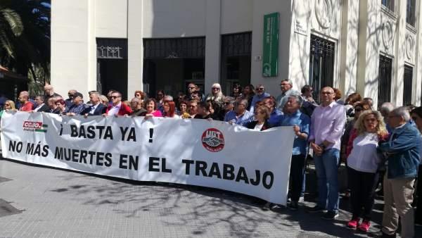 Np Iu Mpg Apoya A Los Sindicatos En El Día Por La Seguridad En El Trabajo