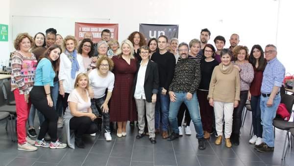 Huelva.- Diputación clausura el curso 'Dramaturgo entre Dramaturgias' tras una semana de actividad teatral