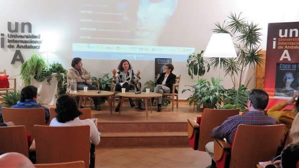 Huelva.- Lina Gálvez clausura el Seminario 'Ético 19' en La Rábida con una reflexión sobre los grandes retos del mundo