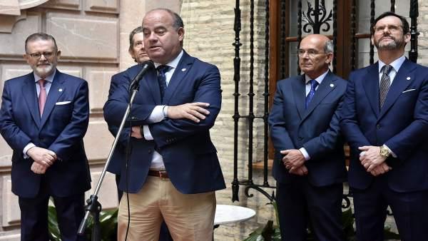 Málaga.- Alcalde de Antequera asiste a la entrega de la cuarta edición de los Premios Patrocinio Gómez