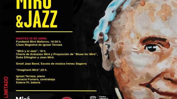 La Fundació Miró Mallorca acoge este martes una jornada de Jazz