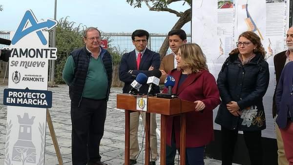 Huelva.- El proyecto 'Ayamonte mira al río' comienza con un presupuesto de casi 2,2 millones de euros