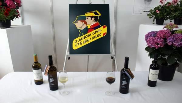 Córdoba.- Guardia Civil y DOP Montilla-Moriles crean una edición exclusiva de vinos por los 175 años de la Benemérita
