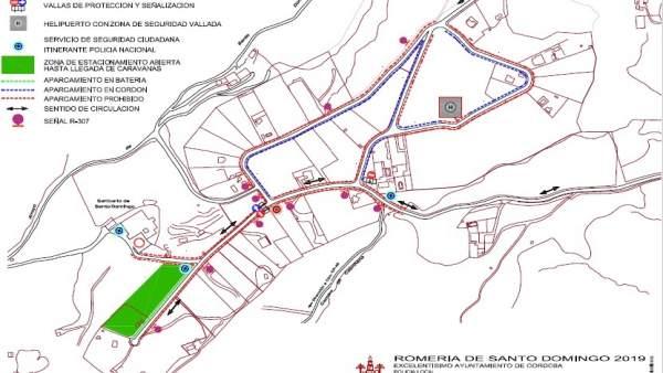 Córdoba.- El Ayuntamiento pone en marcha el Plan Especial de Tráfico y Seguridad de la Romería de Santo Domingo