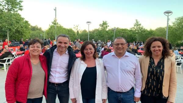28A.- Armengol Cierra La Campaña Del PSIB-PSOE Pidiendo El Voto A 'Progresistas Y A Moderados'