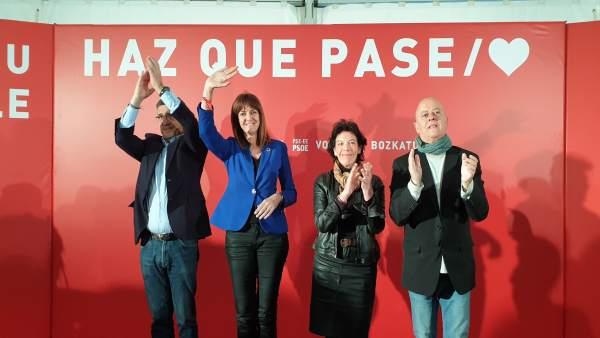 28A.- Mendia Advierte De Que La 'Dispersión' Del Voto Progresista Y La Abstención Puede Llevar A La Derecha Al Gobierno