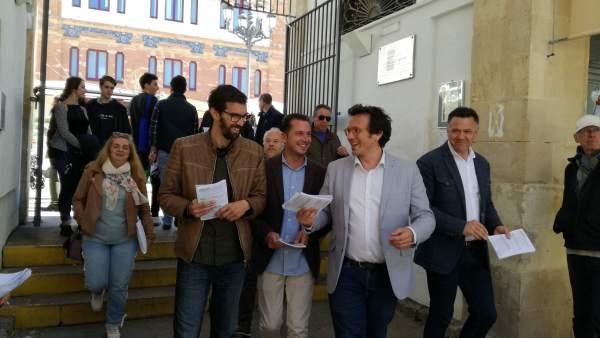Cádiz.- 28A.-Unidas Podemos defiende su 'alternativa' para una 'salida social de la crisis' en una 'provincia olvidada'